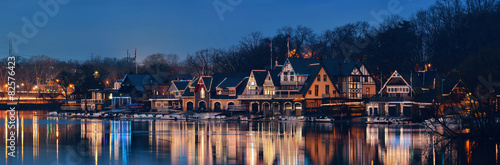 Boathouse Row Tapéta, Fotótapéta