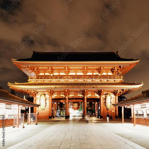 Foto op Plexiglas Temple Tokyo temple