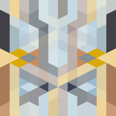 Fototapeta Style abstract retro art deco geometric pattern