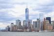 Manhattan skyline with the Freedom Tower