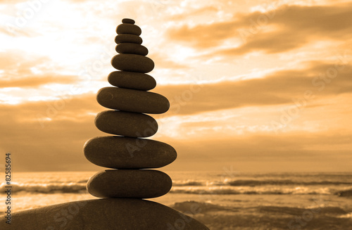 Photo piedras zen mar 9738-f15