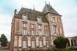 Chateau du 16ème siècle, Crèvecoeur le grand, Oise, Picardie