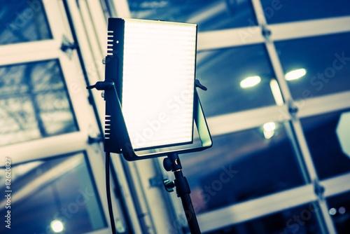 Fotografie, Obraz  Videography Lighting Panel