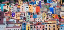Colourful Houses, Bosa, Sardin...