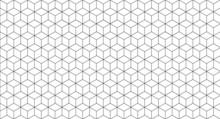 Cube Seamless Pattern, Geometr...