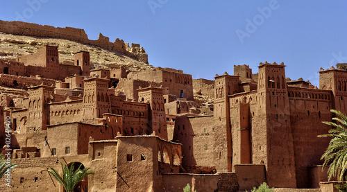 Papiers peints Maroc Ait Ben Addou, a ksar in the desert