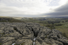 Veiw From The Top Of Malham Cove