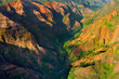 Stunning view into Waimea Canyon, Kauai