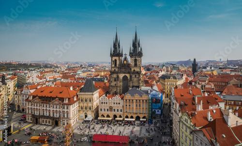 Fototapety, obrazy: cityscape Prague