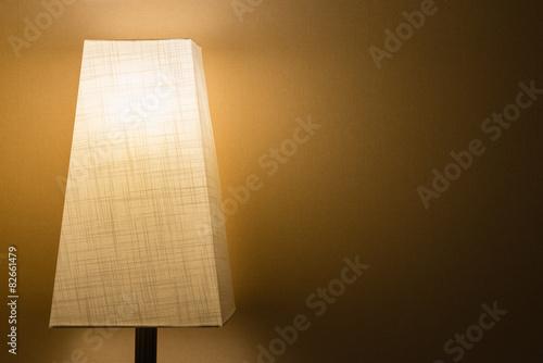 Fotografie, Obraz  Cloth Lamp in the Dark