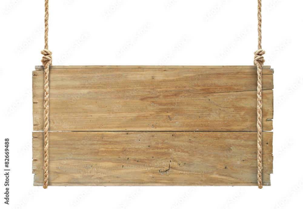 Fototapeta wooden sign