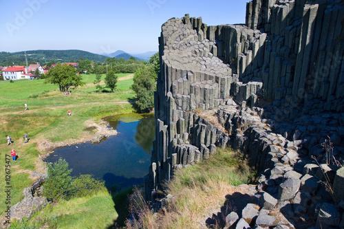Panska rock known as Organs (national natural monument), Novy Bo Poster