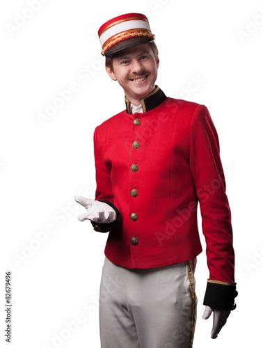 Fotografía Portrait of a concierge (porter)