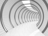 Fototapeta Persperorient 3d - Modern tunnel