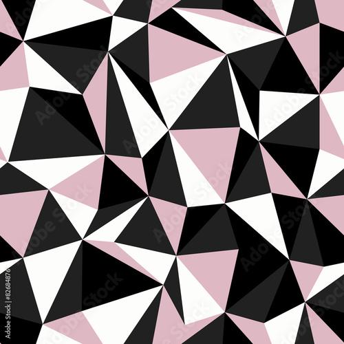 czarno-rozowy-kolor-trojkata-bez-szwu-desen