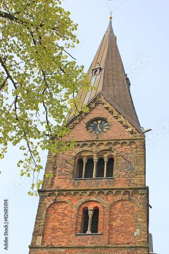 Fotografie, Obraz  Stiftskirche Bücken (12. Jh., Niedersachsen)