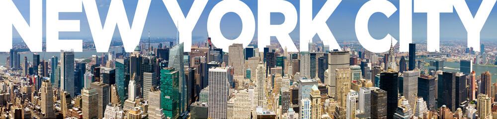 Fototapeta Nowy York New York City Panoramic Skyline