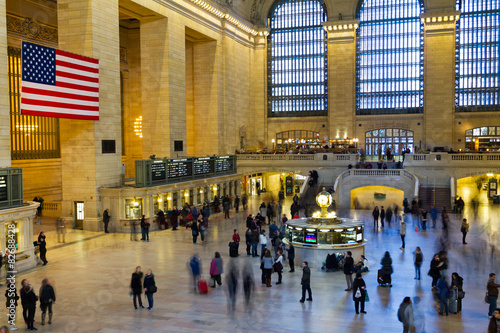 Grand Central Station Travelers in New York City Fototapet