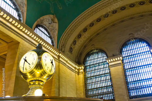 Fotomural Clock in Grand Central Station, New York City