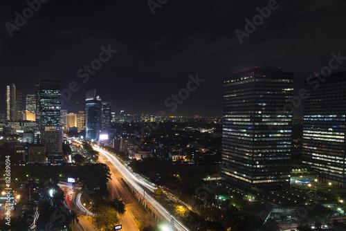 jakarta-night-city