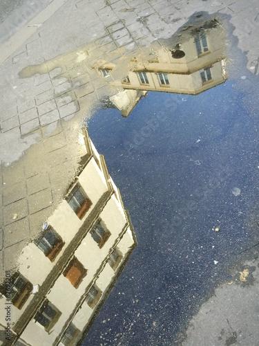 Fotografie, Obraz  Paris reflexe