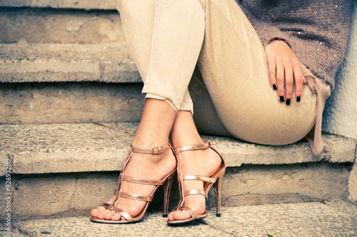 Fotografie, Obraz  high heels