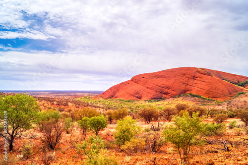 In de dag Australië Australien Outback