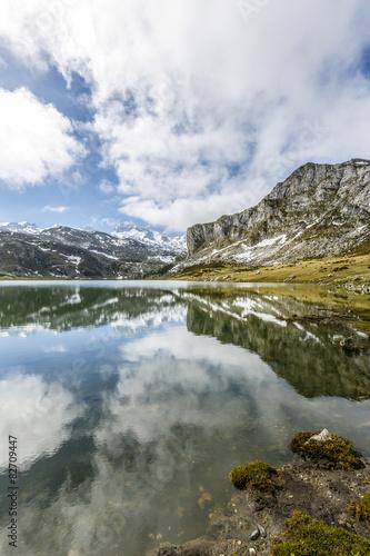 lake Ercina Covadonga, Asturias Spain