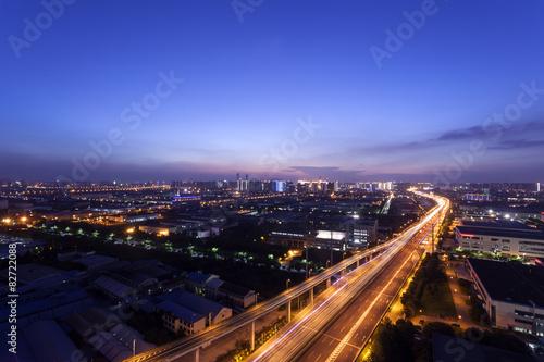 Poster Bangkok City of Night