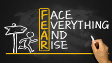 Fear Means Face Everything And...