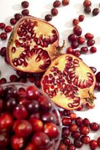 Cranberries Und Granatapfel, Grenadine