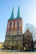 famous saint nicholas church in berlin.