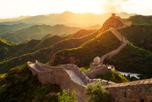Great Wall Under Sunshine Duri...