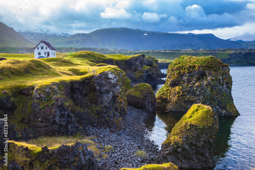 Wall Murals Northern Europe The coast of Iceland
