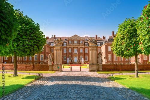 Foto auf Leinwand Schloss Schloss Nordkirchen