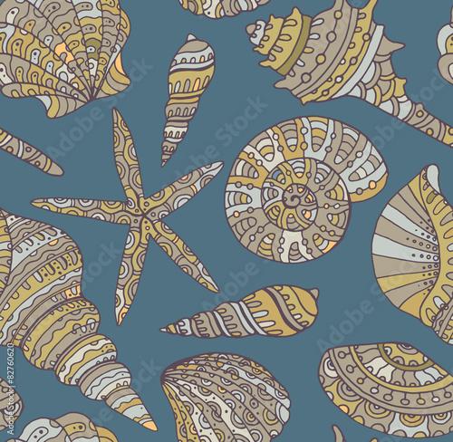 wektorowy-bezszwowy-wzor-z-seashells