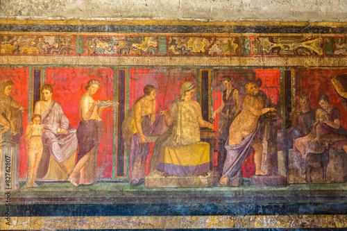Fotografie, Obraz  Pompeii city