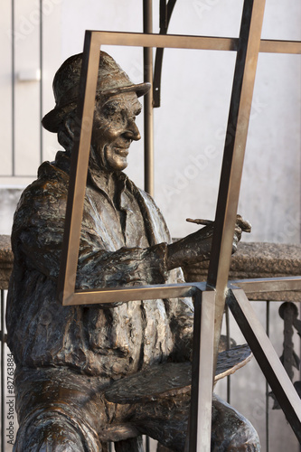 Cuadros en Lienzo  Statue of a painter