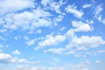 Fototapeta Sky with clouds