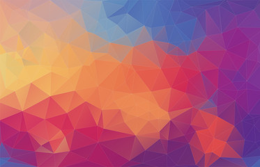 Abstract polygonal backgrou...