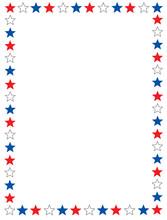 Patriotic Border / Star Frame