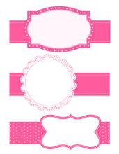 Cute Pink Frame / Border