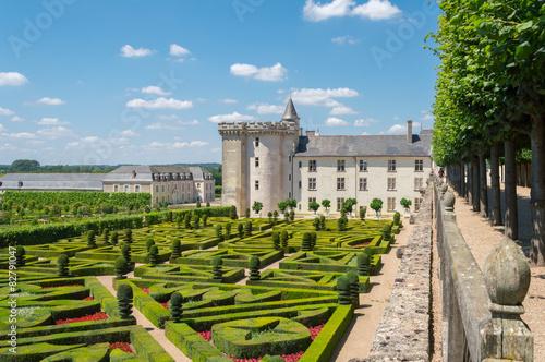 Jardins du Château de Villandry, Indre-et-Loire Wallpaper Mural