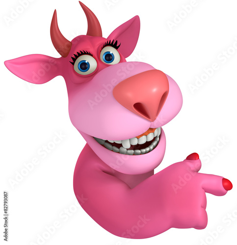 Recess Fitting Sweet Monsters pink cartoon monster 3d