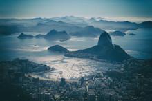 Rio De Janeiro City Skyline Overlook