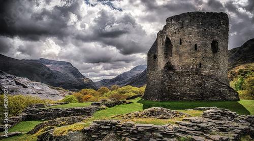 In de dag Kasteel Dolbadarn Castle