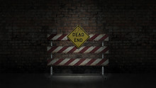 Dead End Sign Could Represent ...