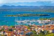 Croatian island archipelago view near Murter