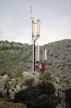 Press Photo: Mobile Phone Base Station Near Dubrovnik Croatia