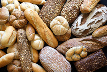 Many Mixed Breads And Rolls Sh...